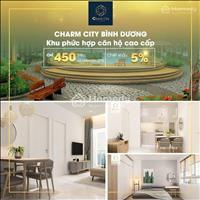 Mở bán căn hộ sân vườn Charm City - Dĩ An 450 triệu, thanh toán 30% nhận nhà