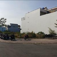 Cần bán lại nền đất 120m2 - góc 2 mặt tiền - đối diện chợ Bà Hom