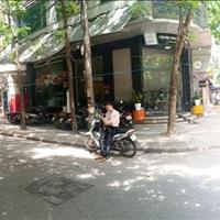 Cho thuê mặt bằng kinh doanh lô góc 2 mặt tiền phố Duy Tân làm CF, trà chanh, giá thuê 18tr