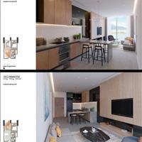 Bán căn hộ 5 sao Risemount Apartment vị trí VIP, 1 phòng ngủ, tầng 4