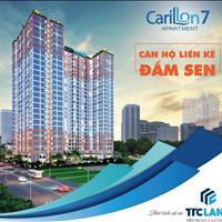 Bán căn hộ Carillon 7, Quận Tân Phú - 2 phòng ngủ, 1wc, view hồ bơi, tầng cao, giá 2.13 tỷ