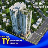 Cần sang nhượng căn hộ Res Green Tower lầu trung và cao giá tốt, bàn giao nhà tháng 11/2020