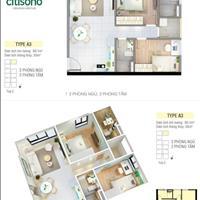 Cho thuê căn hộ 2 phòng ngủ - Quận 2 - 60m2 - 5 triệu/tháng
