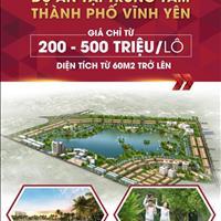 Bán đất nền khu đô thị TMS Homes Wonder World - Đầm Cói, Vĩnh Yên