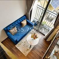 Cho thuê căn hộ dịch vụ gác lửng cao cấp, ban công đẹp gần Thảo Cầm Viên Quận 1