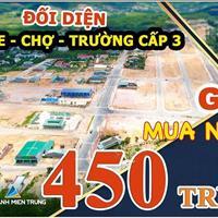 Chỉ 450tr sở hữu ngay lô đất ở đô thị 110m2 đối diện chợ, bến xe, trường học, tòa nhà cơ quan