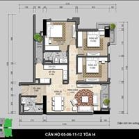 Chính chủ bán cắt lỗ căn hộ CT3 Iris Garden - 30 Trần Hữu Dực - 102m2- 3 phòng ngủ - Hướng Đông Nam