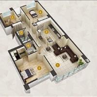 Bán căn hộ Imperia An Phú 3 phòng ngủ 131m2, block C, nội thất cơ bản, chỉ 5 tỷ bao thuế phí