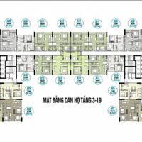 Bán căn hộ 814 chung cư Tecco Skyville Tower, 71.6m2, giá bán 19 triệu/m2