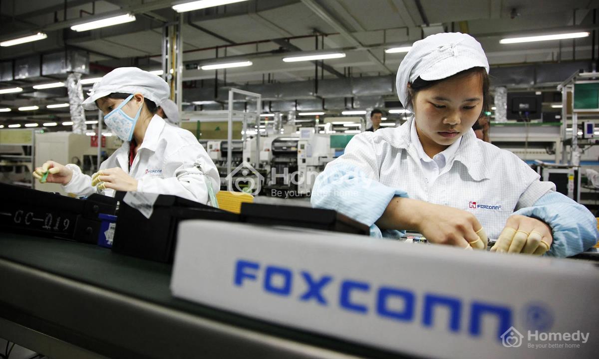 Foxconn là doanh nghiệp FDI hoạt động trong lĩnh vực điện tử, công nghệ thông tin và sản xuất máy móc hàng đầu thế giới