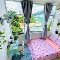 Cho thuê căn hộ Quận Bình Thạnh đầy đủ nội thất view kính ánh sáng tự nhiên phòng siêu xinh
