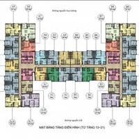 Bán gấp căn chung cư 282 Nguyễn Huy Tưởng, căn 1512, diện tích 66.9m2m2, giá 22 triệu/m2