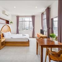 Cho thuê căn hộ studio Quận Bình Thạnh phòng thoáng lầu cao view trọn sông Sài Gòn cực đẹp
