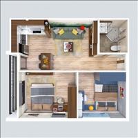 Bán gấp căn hộ chung cư Unico Bình Dương tầng 10, giá rẻ nhất thị trường