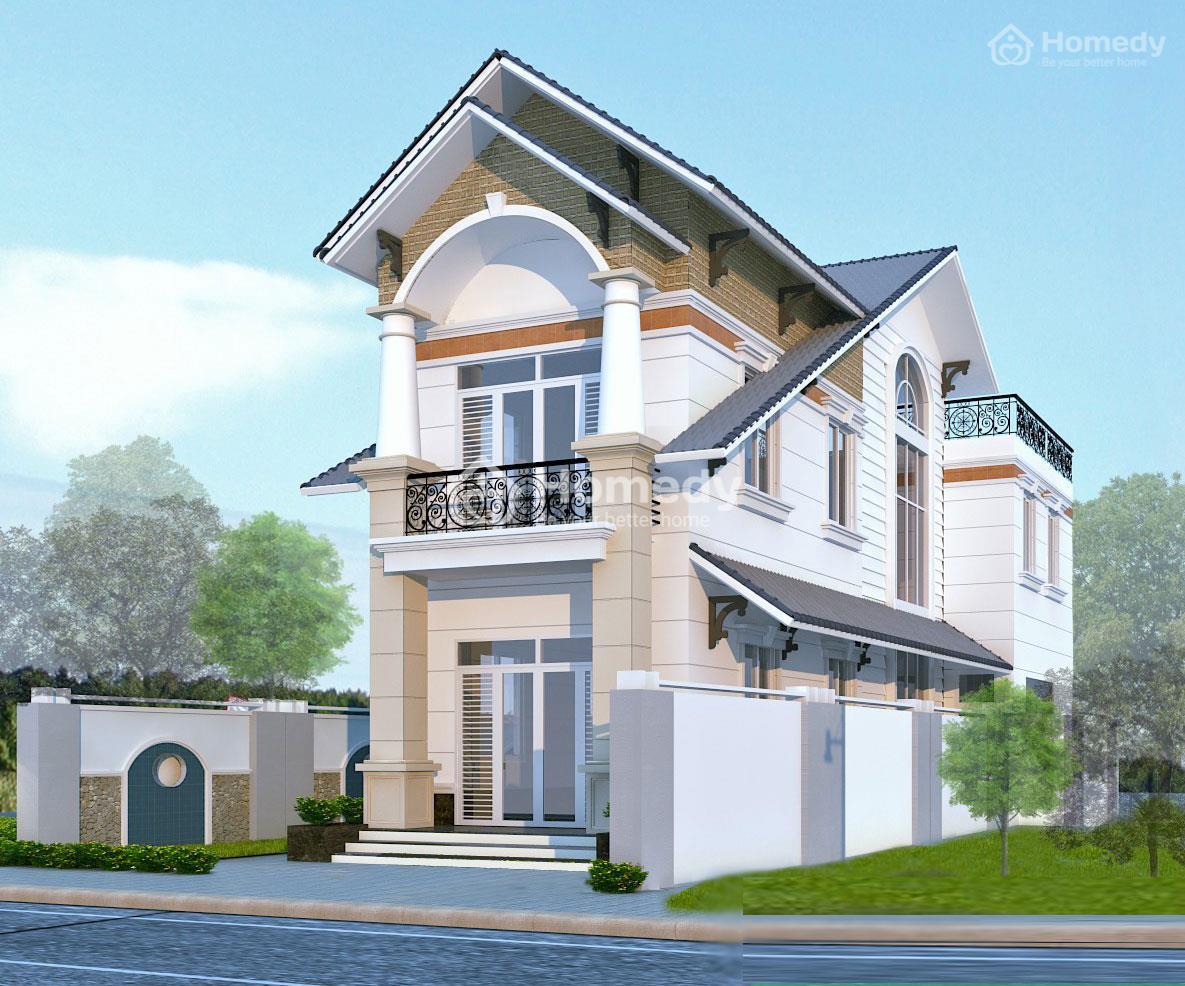 Mẫu nhà 2 tầng ở nông thôn
