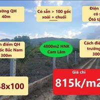 Bán đất Cam Lâm - Khánh Hòa - gần cao tốc Bắc Nam, gần trường học - giá 3.50 tỷ
