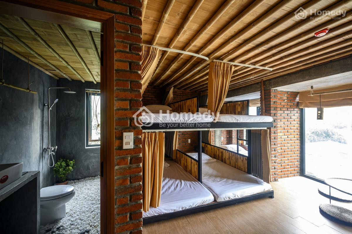 Không gian phòng ngủ chung của phòng dorm