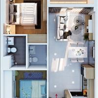 Cho thuê căn 2 phòng ngủ 2WC Bcons Suối Tiên 5tr/tháng, tầng cao thoáng mát, không bị nắng chiều