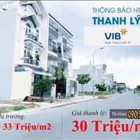 Ngân hàng VIB, Vietcombank hỗ trợ thanh lí 10 nền đất gần Aeon Mall Tên Lửa Bình Tân TP Hồ Chí Minh