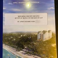 Cần bán căn Apec Mũi Né, mua đợt 1, 32m2 đã đóng 39% rẻ hơn chủ đầu tư 200 triệu, liên hệ - Mai