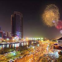 Bán căn hộ Saigon Royal Quận 4, 2 phòng ngủ liền kề mặt sông, view pháo hoa