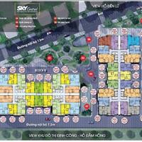 Bán suất ngoại giao vào tên trực tiếp giá rẻ nhất thị trường căn hộ Sky Central 176 Định Công