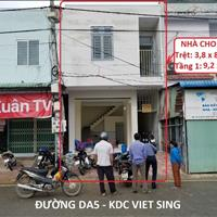 Cho thuê nhà mặt tiền Thuận An - Bình Dương - Giá 5 triệu/tháng