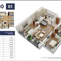 Bán căn hộ chung cư 3 phòng ngủ (S2 3401) tại dự án Goldmark City