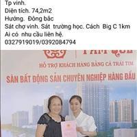 Bán căn hộ thành phố Vinh - Nghệ An giá thỏa thuận