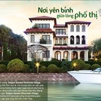 Biệt thự ven sông ( Saigon Garden - tập đoàn Hưng Thịnh), chiết khấu 5% -7%