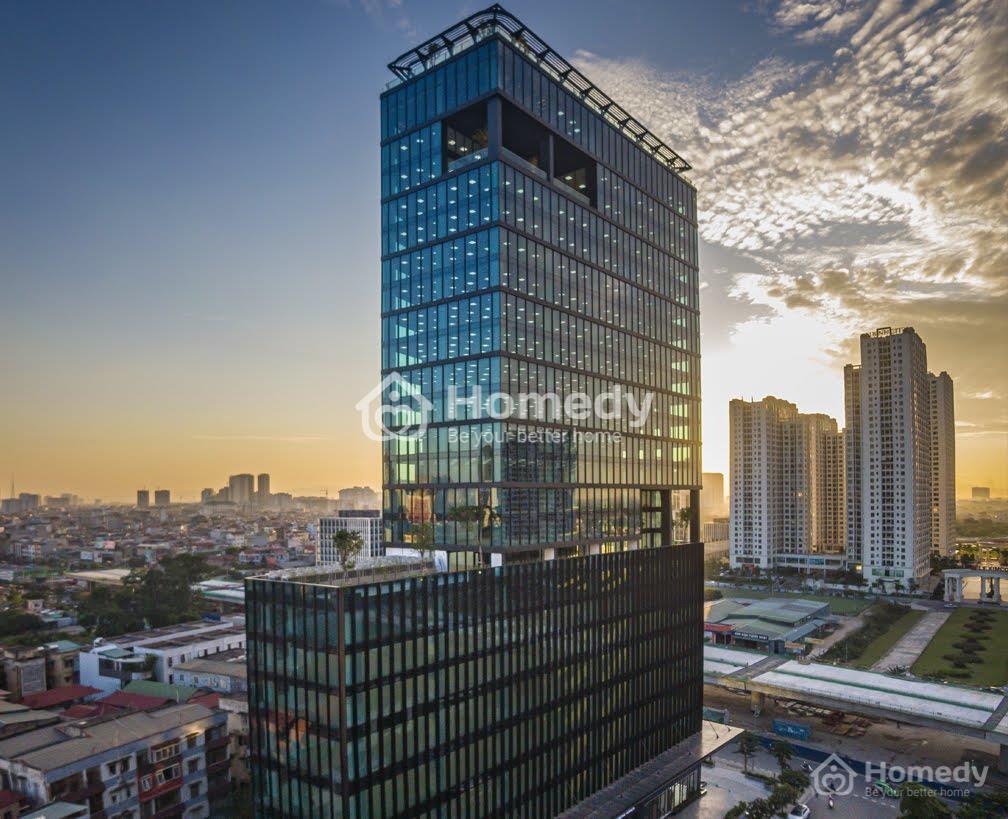 Thị trường cho thuê văn phòng Hà Nội