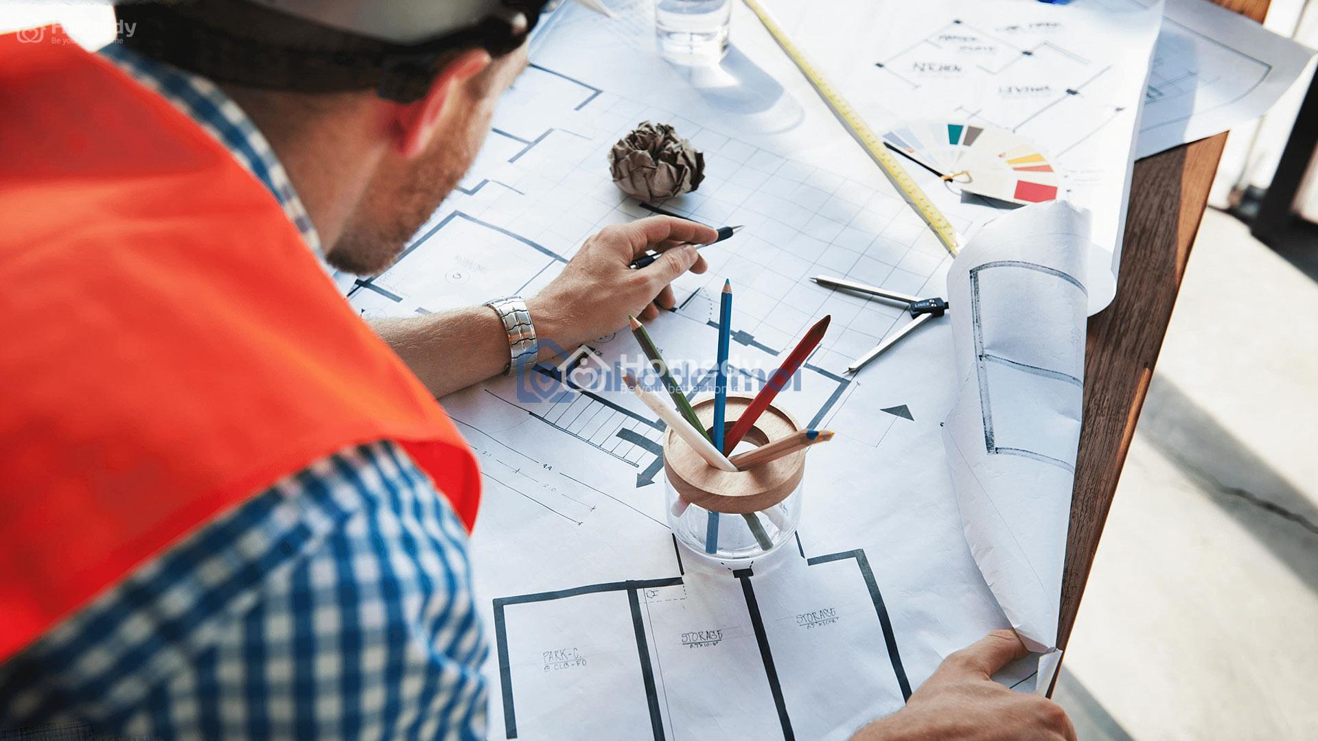 Cách tính tổng diện tích sàn xây dựng
