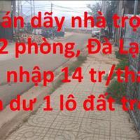 Bán dãy 12 phòng trọ, 1 lô đất, Nguyễn Hữu Cầu - Đà lạt - Lâm Đồng giá 7.3 tỷ