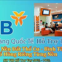 Ngân hàng VIB thông báo hỗ trợ bán 29 tài sản đất nền liền kề bến xe Miền Tây Bình Tân TP HCM
