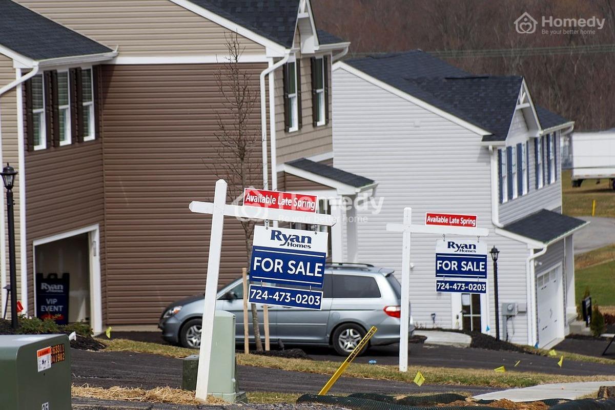 Nhà đất tại Mỹ có vẻ như đang bước vào đợt bong bóng bất động sản