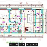 Bán căn hộ 805 CT3A Nam Cường - ngõ 234 Hoàng Quốc Việt - Hà Nội giá 2.49 tỷ