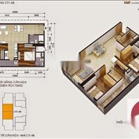 Bán căn hộ 2 phòng ngủ tại tòa CT1A VOV Mễ Trì Plaza giá 2,1 tỷ