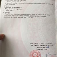 Ngân hàng ACB thanh lý 5 lô đất Quận 9 đường Nguyễn Duy Trinh