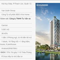 Căn hộ view sông mặt tiền đường Hà Huy Giáp, tặng gói nội thất thông minh 4.0 Hafele