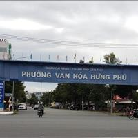 Nền Mương Hở đường B12 khu dân cư Hưng Phú 1 gần siêu thị BigC - Giá 3,2 tỷ