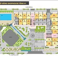 Cho thuê Shophouse Monarchy 80m2 căn hộ tầng trệt kinh doanh - giá rẻ mùa dịch