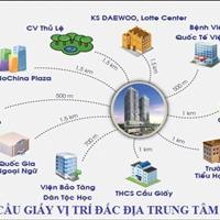 Cho thuê nhanh căn hộ chung cư cao cấp FLC Twin Towers 265 Cầu Giấy 2 PN full nội thất chỉ 11 triệu