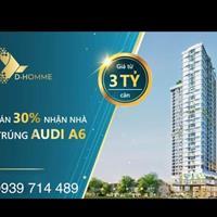 Căn hộ cao cấp D - Homme Hồng Bàng trung tâm chợ Lớn Quận 6- TT 900tr đến 2023 nhận nhà mới TT tiếp
