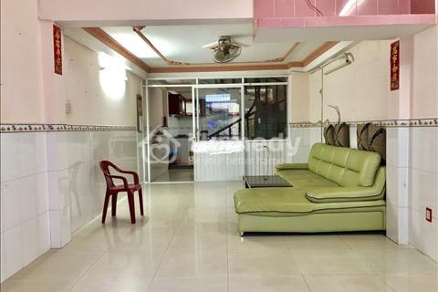 Nhà mặt tiền Cư xá Phú Lâm A Quận 6 (4x18m) 2 lầu 1 sân thượng 4 phòng 4 toilet thông ra Hậu Giang