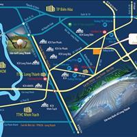 Đất nền sân bay Long Thành, cách sân bay 3km, ngân hàng hỗ trợ 70%, giá chỉ từ 16 triệu/m2