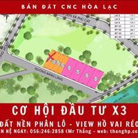 Bán đất tái định cư view hồ Vai Réo - xã Phú Cát - đường 15m sát tổ hợp y tế
