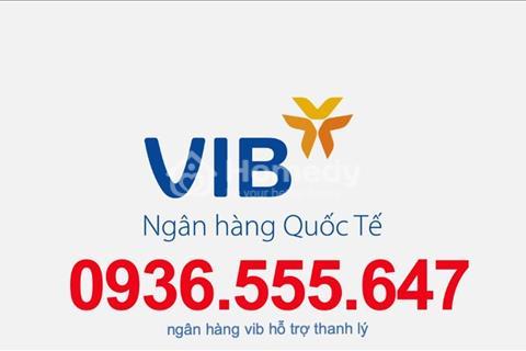 VIB - Ngân hàng quốc tế - hỗ trợ phát mãi 15 nền đất liền kề - siêu thị Aeon Mall Tên Lửa - TP. HCM