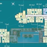 Cần bán lại 6 căn hộ D'Lusso Quận 2 giá gốc đợt 1, 2 phòng ngủ, 2WC, giá từ 3.7 tỷ