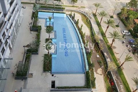 Cho thuê nhà phố 1 trệt 3 lầu Him Lam Phú Đông hướng Tây Nam trục đường 32m, 400m2 sàn, giá 25tr