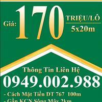 Bán đất huyện Vĩnh Cửu - Đồng Nai giá 170 triệu